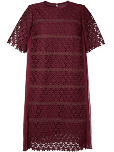 платье шифт с вышивкой Muveil