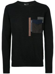 джемпер с накладным карманом Kolor