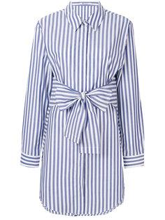 платье-рубашка в полоску  T By Alexander Wang