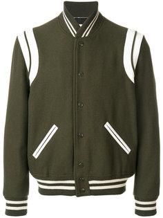 классическая укороченная куртка Saint Laurent