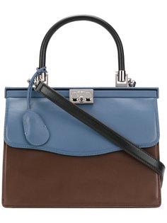 сумка с контрастным клапаном Rodo