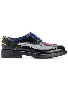 ботинки с нашивкой в виде сердца Dolce & Gabbana