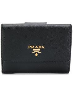 кошелек с откидным верхом Prada