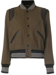 классическая куртка Teddy Saint Laurent