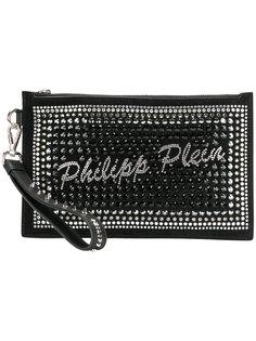 клатч с заклепками Philipp Plein