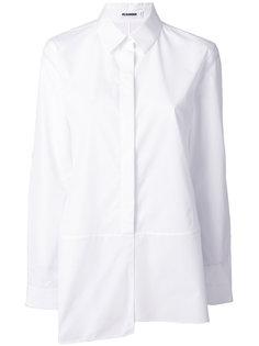 асимметричная свободная рубашка  Jil Sander