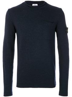 свитер с накладным карманом Stone Island