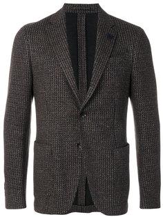 пиджак с фактурной поверхностью Lardini