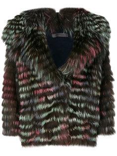 куртка с большими лацканами  Simonetta Ravizza