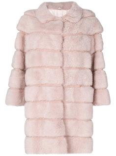 пальто со вставкой  Simonetta Ravizza