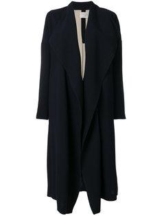 пальто с воротником-шалькой  Forte Forte