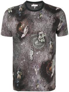 футболка с принтом астронавтов и пейсли Etro