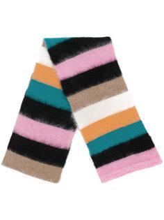 шарф с узором в полоску Nº21