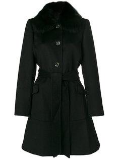 пальто миди с поясом  Michael Michael Kors