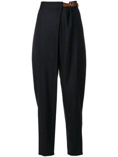 брюки с завышенной талией и поясом  Barena