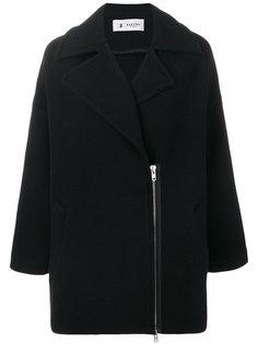 пальто с асимметричной застежкой  Barena