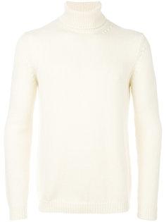 свитер с отворотом Roberto Collina