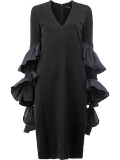 платье с оборками  Ellery