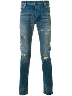 выбеленные джинсы кроя слим Balmain