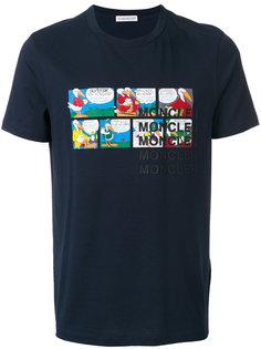 футболка с принтом комиксов Moncler