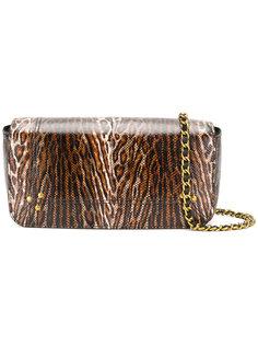сумка на плечо с леопардовым рисунком Jérôme Dreyfuss