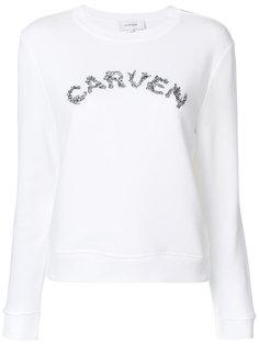 джемпер с логотипом  Carven
