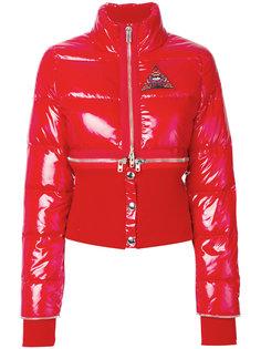 дутая куртка-трансформер с молнией  Givenchy