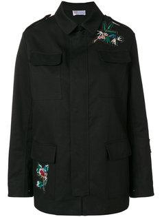 куртка-карго с вышивкой  Red Valentino