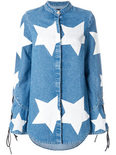 рубашка со звездами House Of Holland