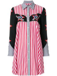 платье-рубашка в полоску  House Of Holland