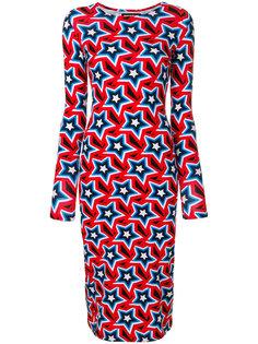 платье со звездным принтом  House Of Holland