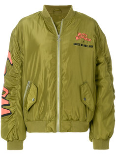куртка-бомбер с логотипом  House Of Holland