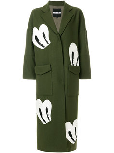 пальто с нашивками House Of Holland