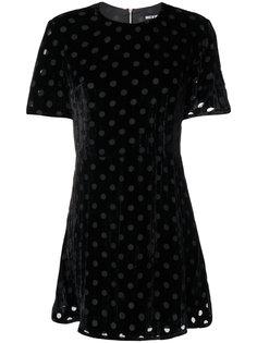 расклешенное платье в горох House Of Holland
