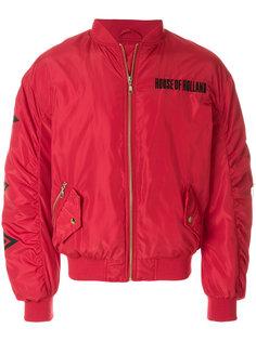 стеганая куртка-бомбер House Of Holland