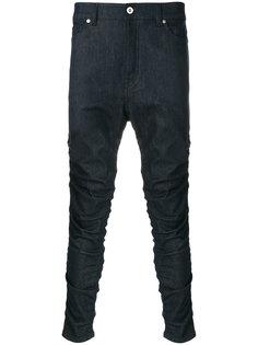джинсы с заниженной проймой Diesel Black Gold