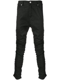 джинсы с занижнной проймой Diesel Black Gold