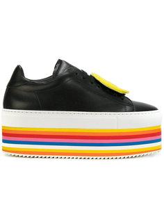 ботинки на полосатой платформе Joshua Sanders