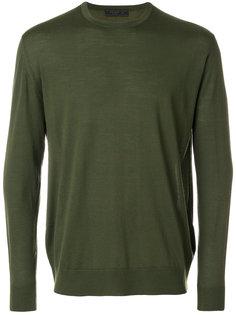 свитер с круглым вырезом Prada