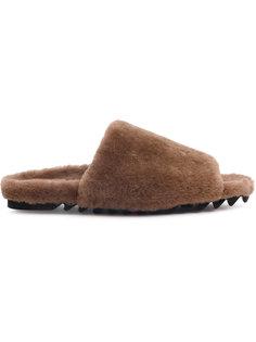 сандалии из овчины Peter Non