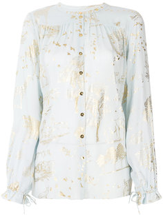 блузка с деревьями Stine Goya