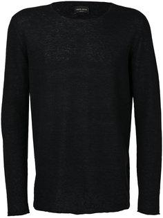 классический свитер с круглым вырезом Roberto Collina