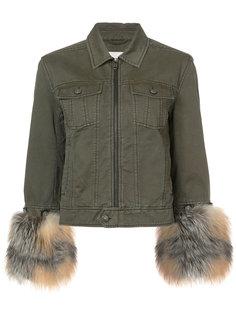 куртка в стиле милитари Cinq A Sept