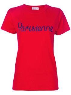 футболка Parisienne Maison Kitsuné