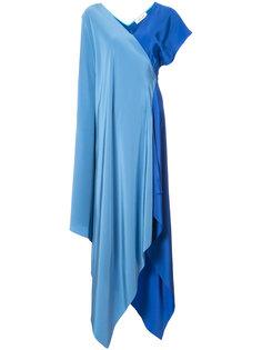 вечернее платье асимметричного кроя Dvf Diane Von Furstenberg