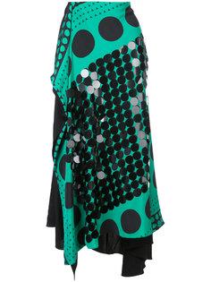 расклешенная юбка с графическим принтом Dvf Diane Von Furstenberg