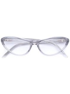 очки в узкой оправе Oliver Goldsmith