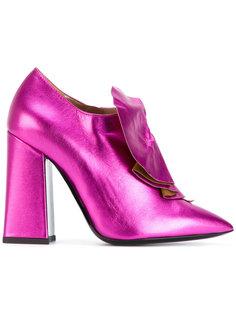 ботинки с оборками Pollini