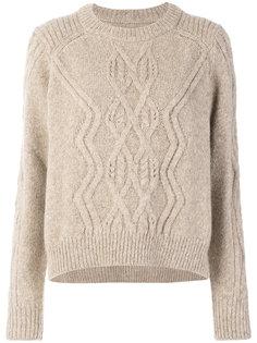 трикотажный свитер с узором косы Elena Isabel Marant