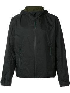 куртка ветровка с капюшоном Prada